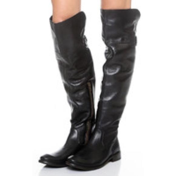14f2b2f1277 Frye Shoes - Shirley over the knee boot (black size 9)
